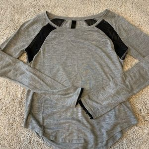 Aeropostale athletic top with mesh details